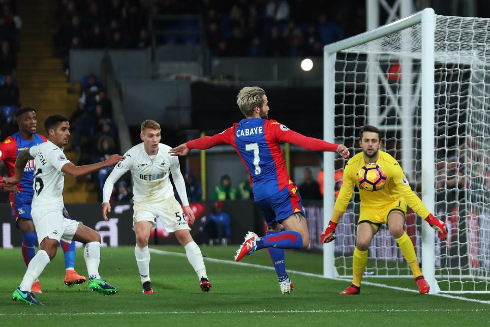 Crystal Palace 1-2 Swansea City