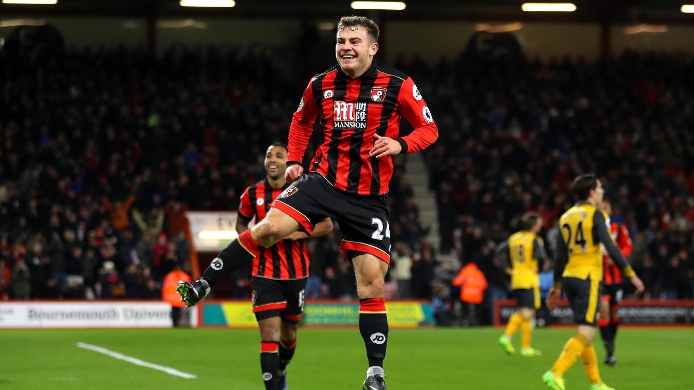 AFC Bournemouth v Arsenal, Ryan Fraser cele, 030117