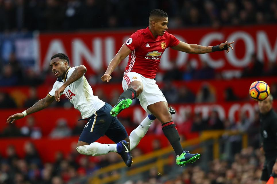Antonio Valencia, Manchester United and Danny Rose, Tottenham Hotspur
