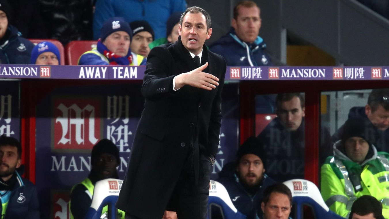 Crystal Palace v Swansea City, Paul Clement