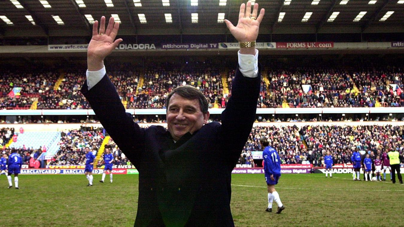 Graham Taylor at Aston Villa