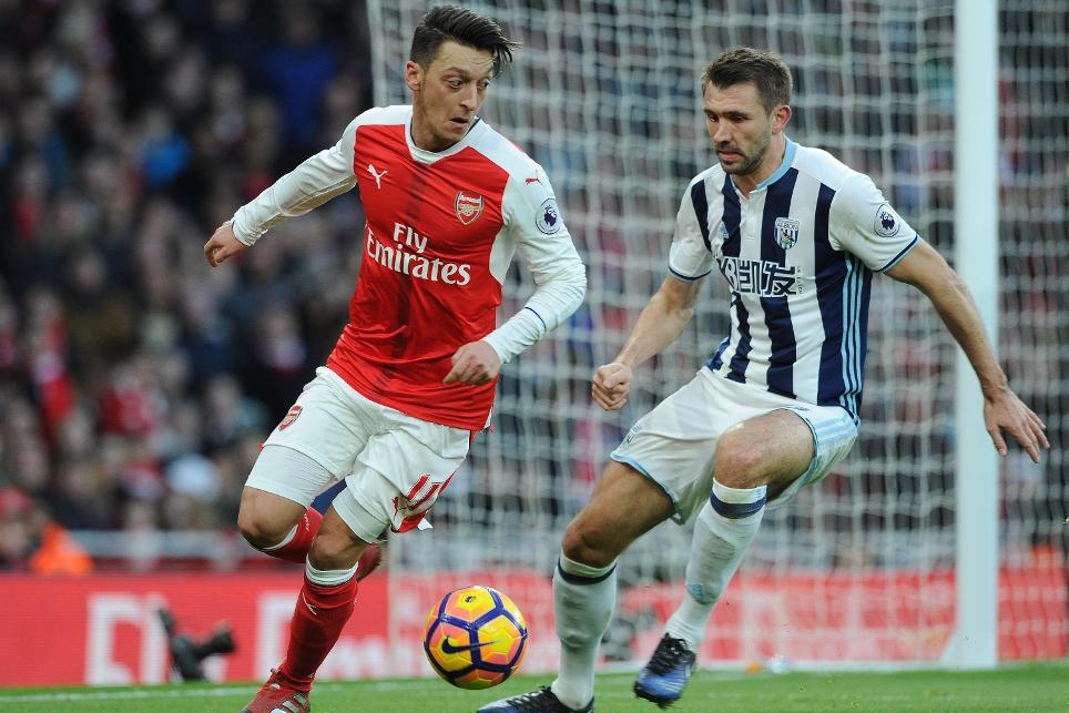 Arsenal v West Bromwich Albion  - Premier League, 261216