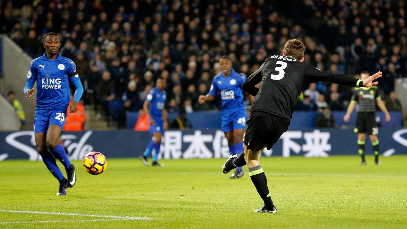 Leicester 0-3 Chelsea