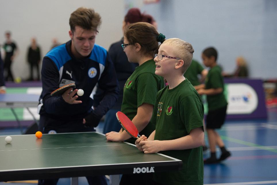 Premier League/BT Disability Fund, Leicester City, Patrick Cox