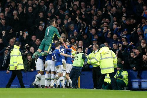 Everton V Man City 2016 17 Premier League