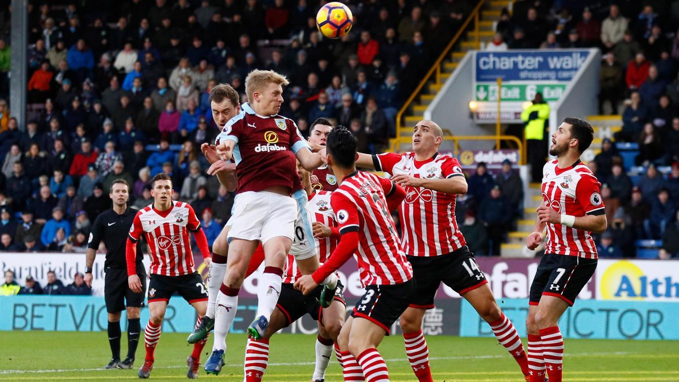 Burnley v Southampton