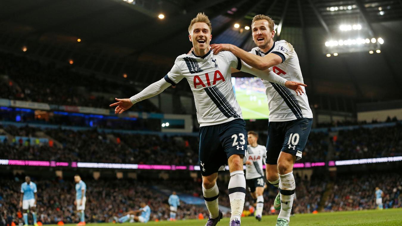 Man City v Spurs, 21 January