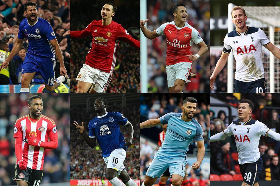 Race for the Premier League Golden Boot