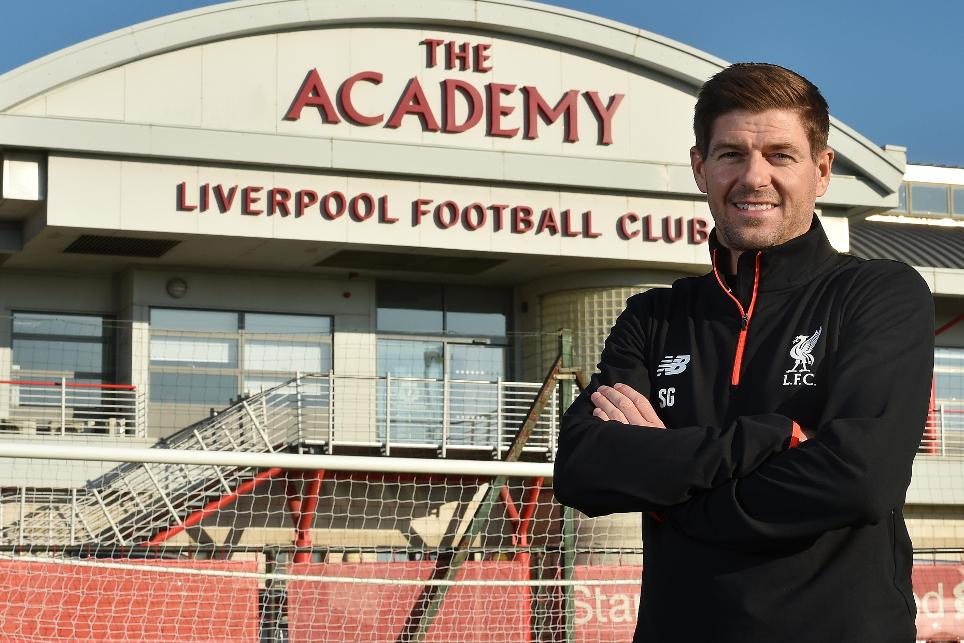 Gerrard takes Liverpool Academy role - 200117