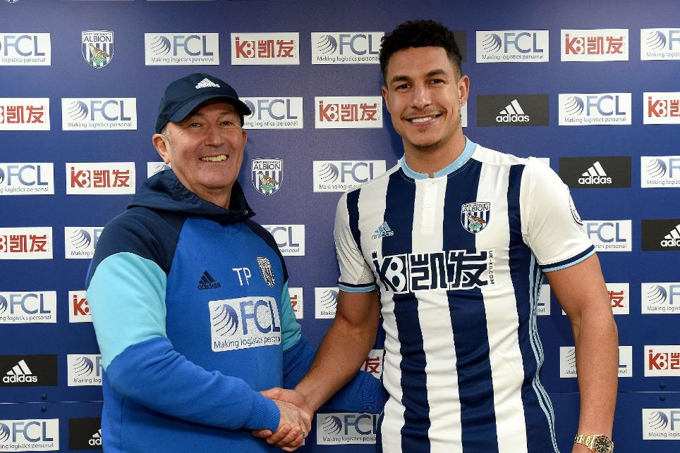 Jake Livermore and Tony Pulis