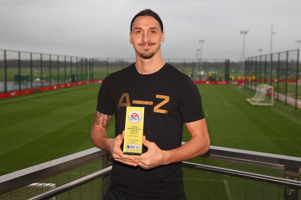 EA SPORTS Half-Time FPL awards - Zlatan Ibrahimovic