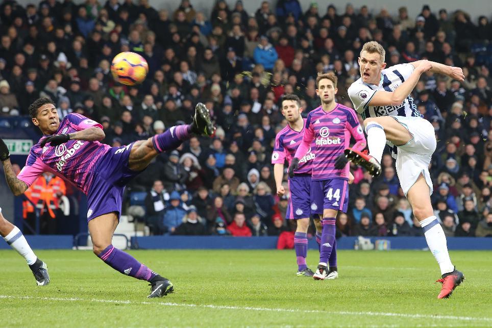 Darren Fletcher scores for West Brom