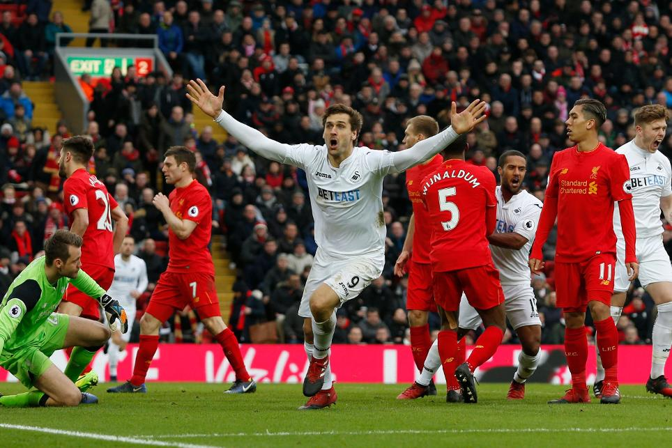 Liverpool v Swansea City