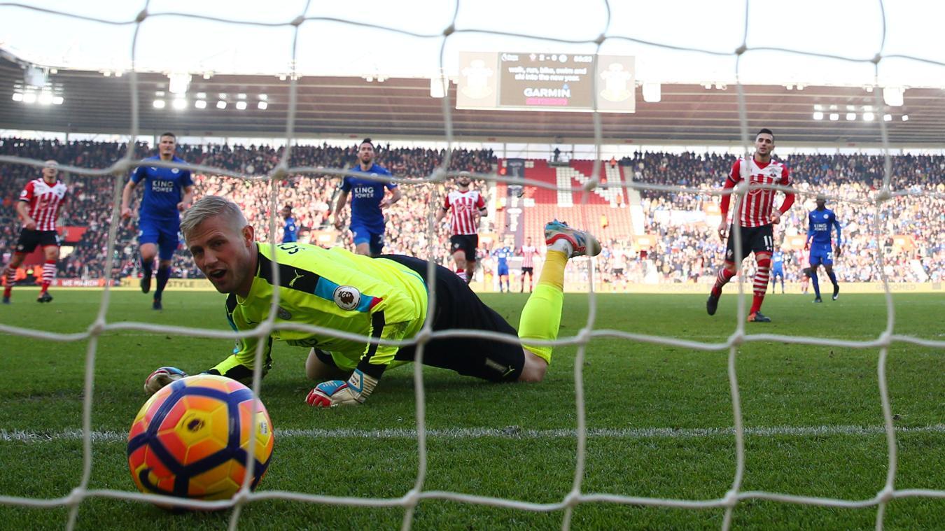 Southampton 3-0 Leicester City