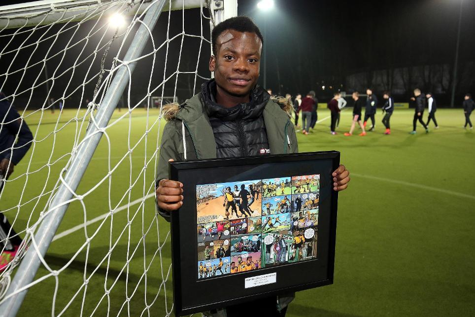 Premier League Kicks Hero, Tresor Kalilwa, Hull City, 230117