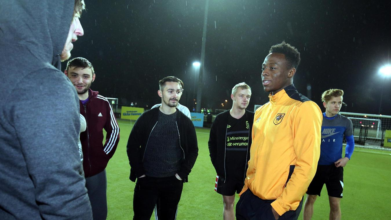 Premier League Kicks Hero, Tresor Kalilwa, Hull City, 230117, Moses Odubajo