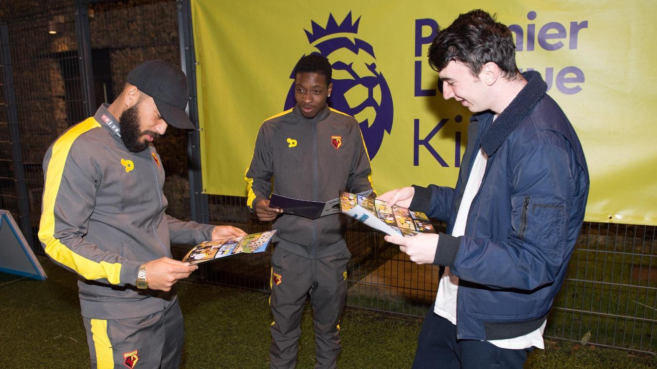 Premier League Kicks Hero, Gary Smith, 240117, Watford, Michael Folivi