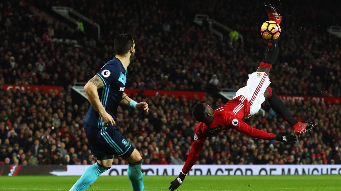 Manchester United v Middlesbrough