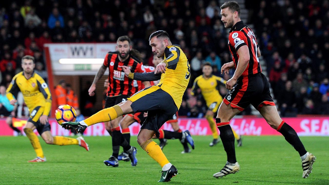 Lucas Perez, Arsenal