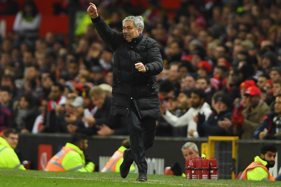 Jose Mourinho, Manchester United v Liverpool, 2016/17