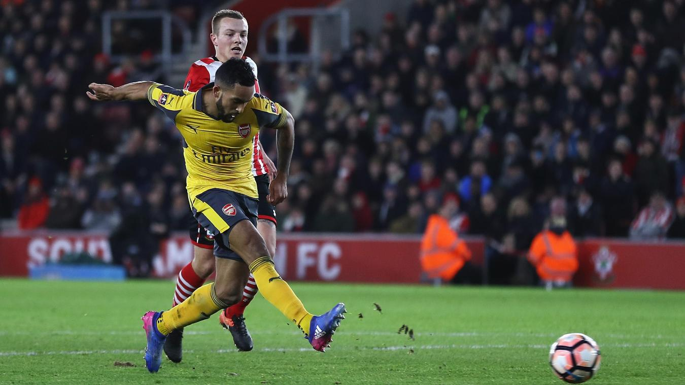 Theo Walcott, Arsenal, FA Cup