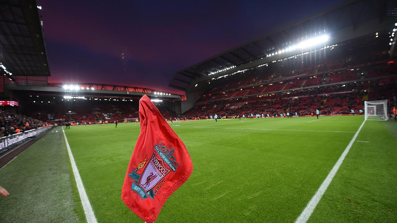 Liverpool v West Ham United, Anfield general view