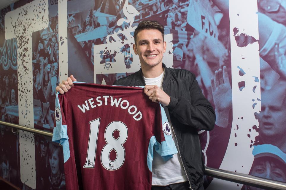 Ashley Westwood joins Burnley