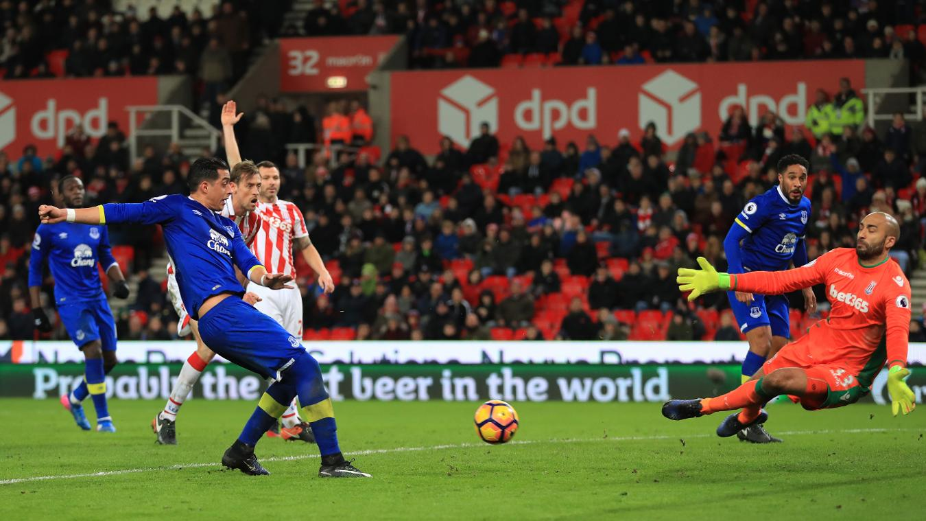 Stoke City v Everton