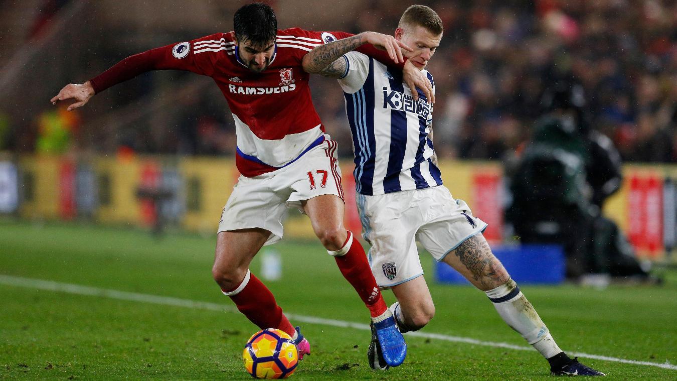 Middlesbrough's Antonio Barragan