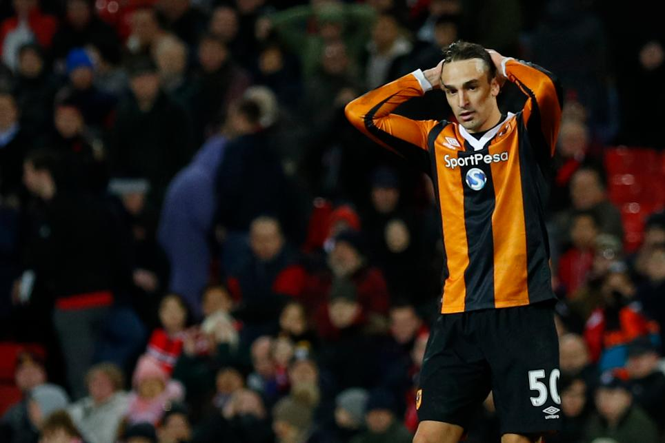 Hull City's Lazar Markovic