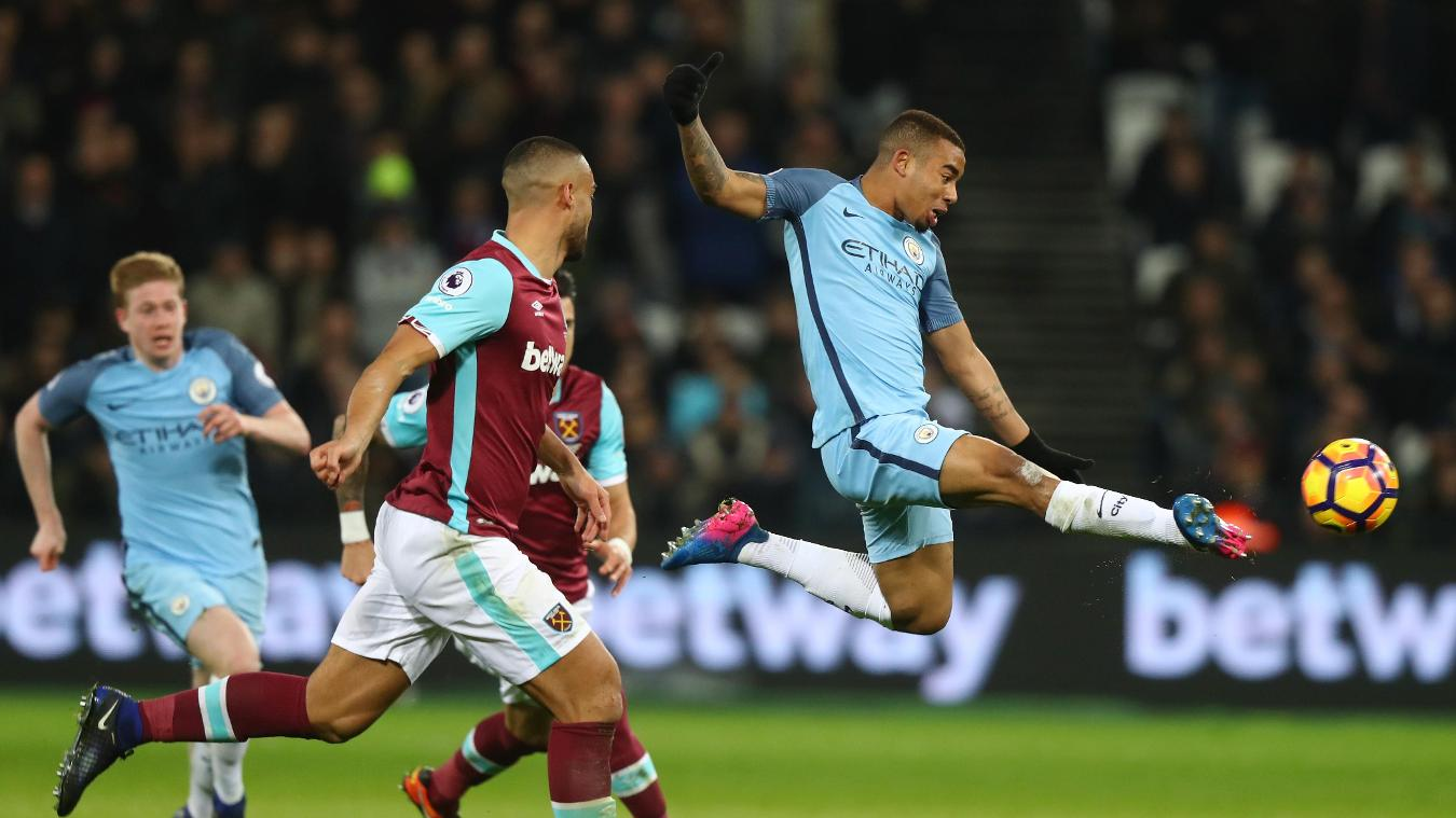 West Ham United v Manchester City
