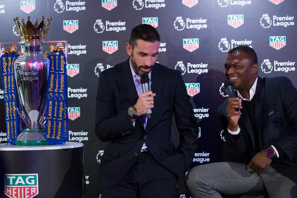 Robert Pires and Marcel Desailly, TAG Heuer