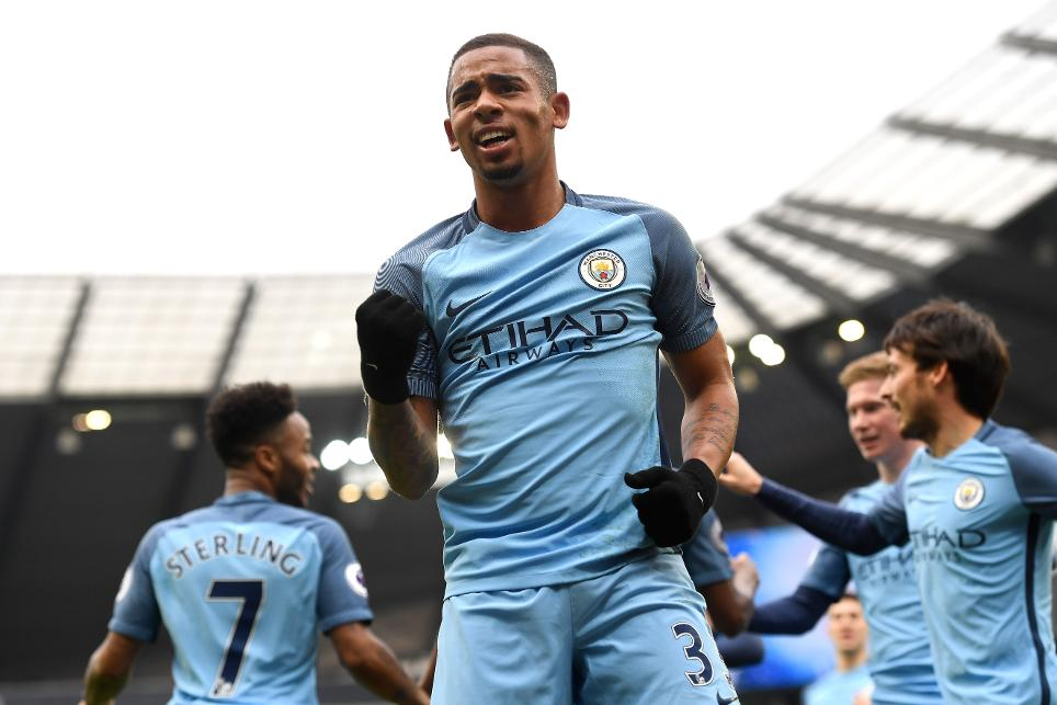 Gabriel Jesus, Man City