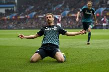 Flashback: Ivanovic boosts title bid with winner at Villa