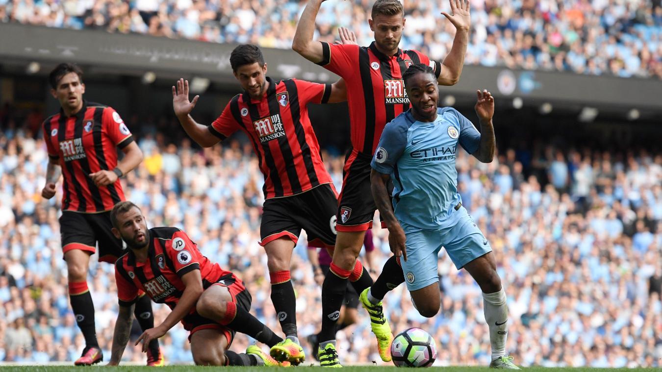 AFC Bournemouth v Man City, 13 February