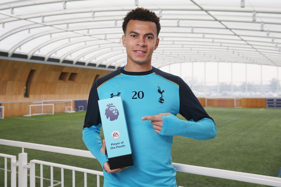 Dele Alli, Tottenham Hotspur, EA SPORTS Player of the Month