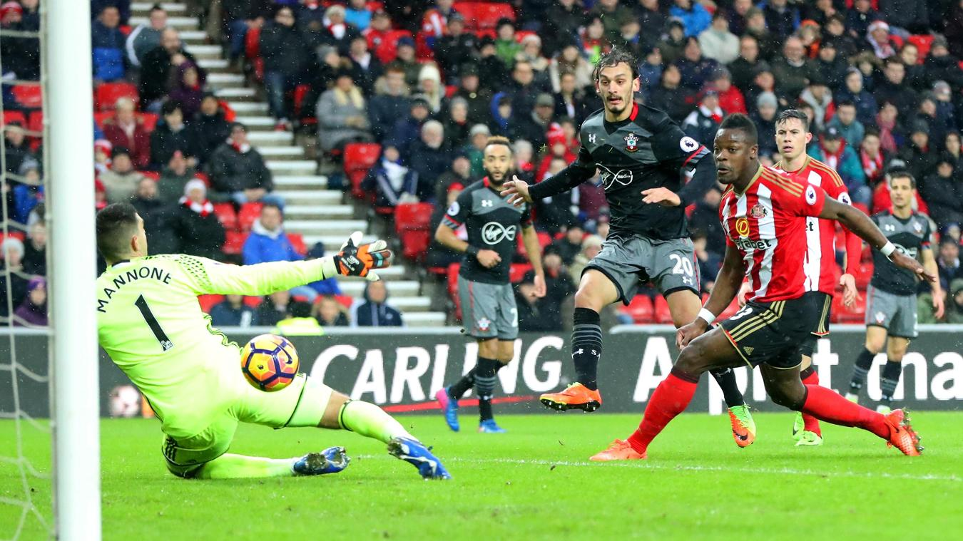 Sunderland 0-4 Southampton