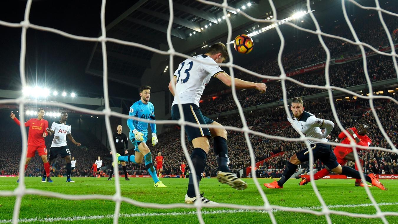 Liverpool 2-0 Tottenham Hotspur