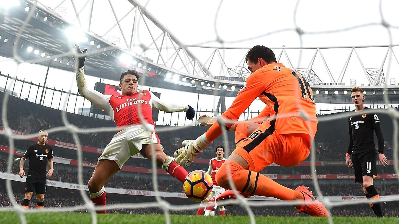 Arsenal 2-0 Hull City