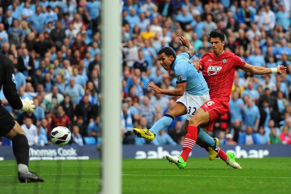 Manchester City v Southampton, 2012/13