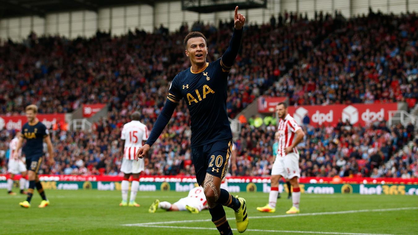 Spurs v Stoke City, 26 February