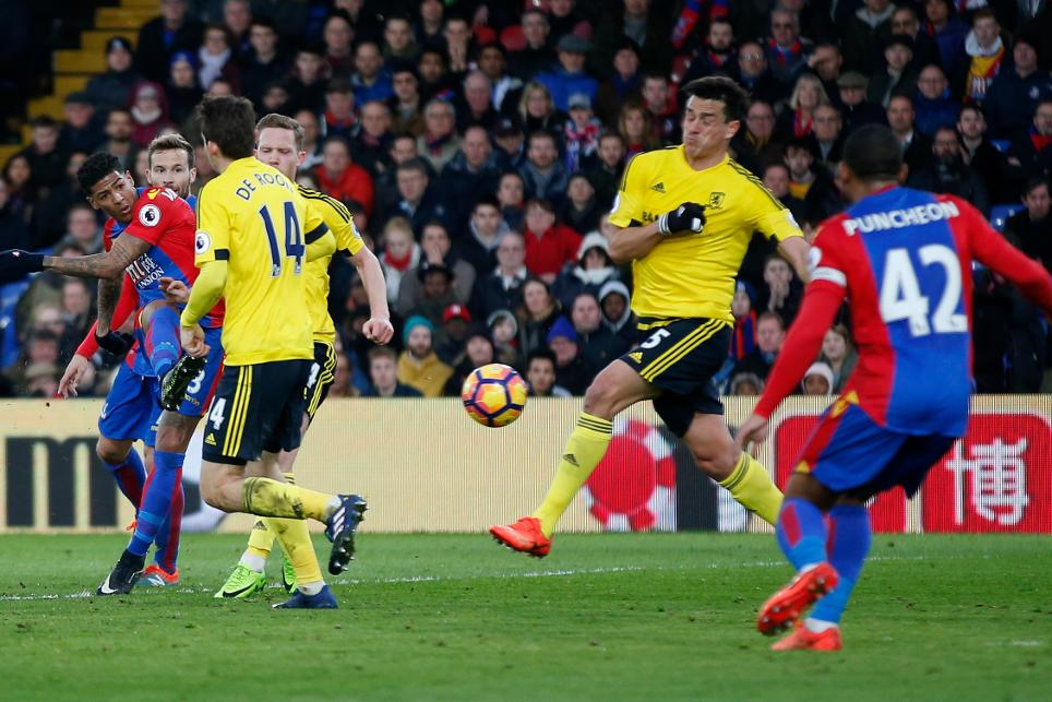 Crystal Palace 1-0 Middlesbrough