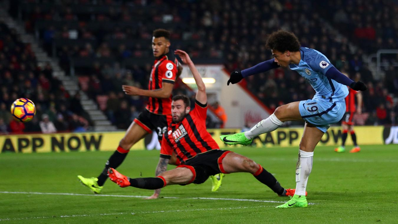 Leroy Sane, Man City