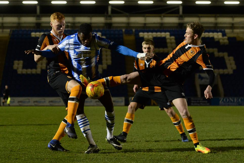 Photo of Colchester 2-1 Hull, PL Cup
