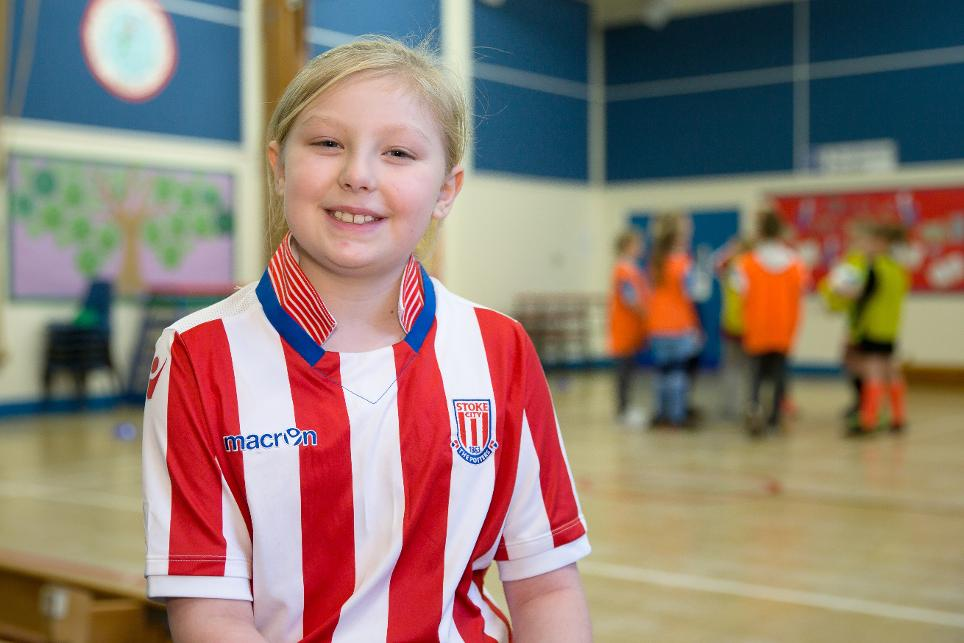 Katey, Stoke City Community Trust