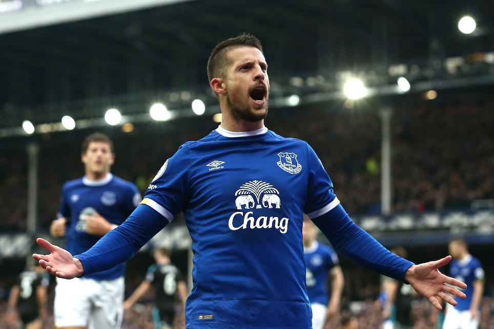 Kevin Mirallas, Everton