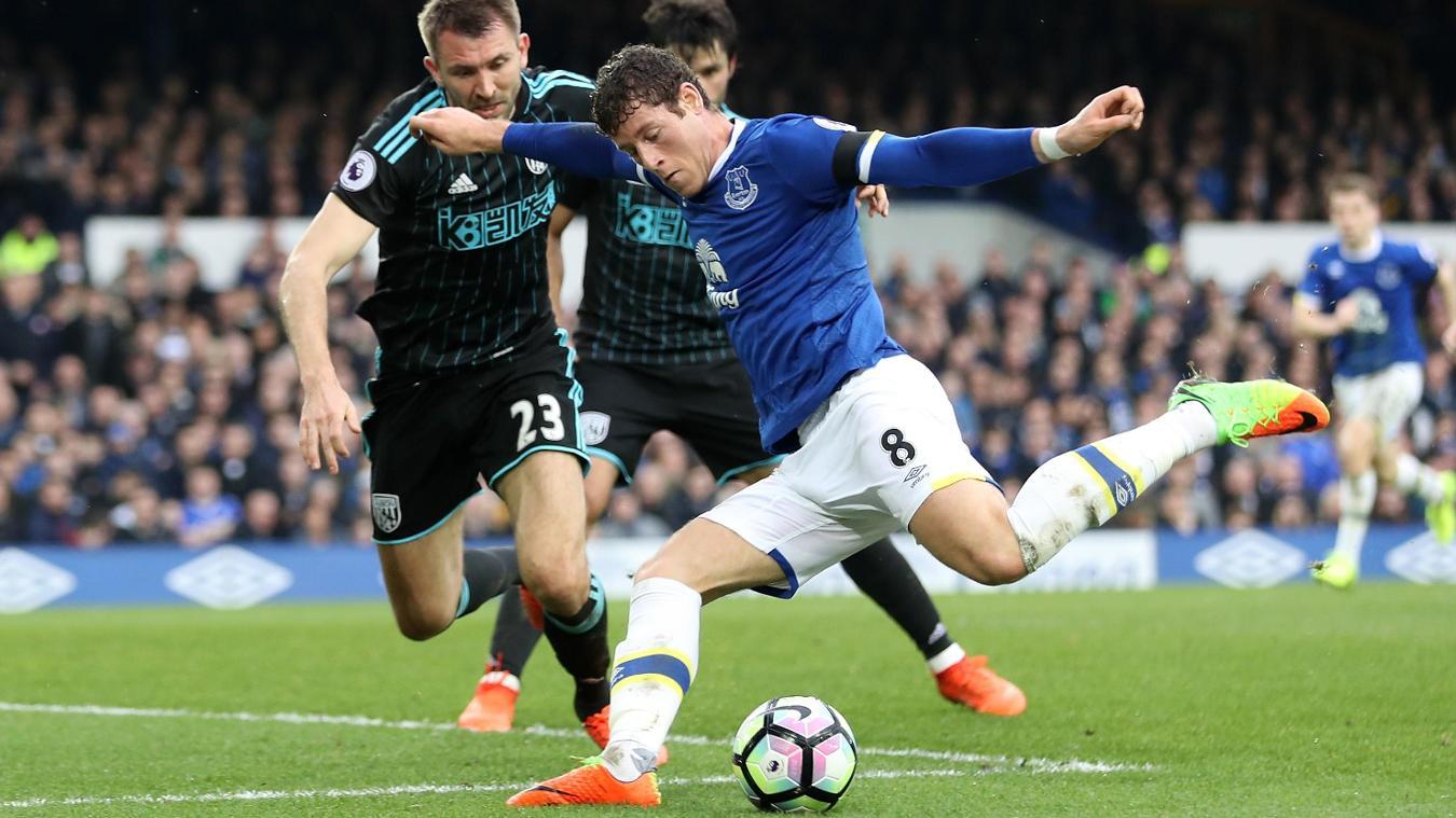 Everton v West Bromwich Albion, Ross Barkley