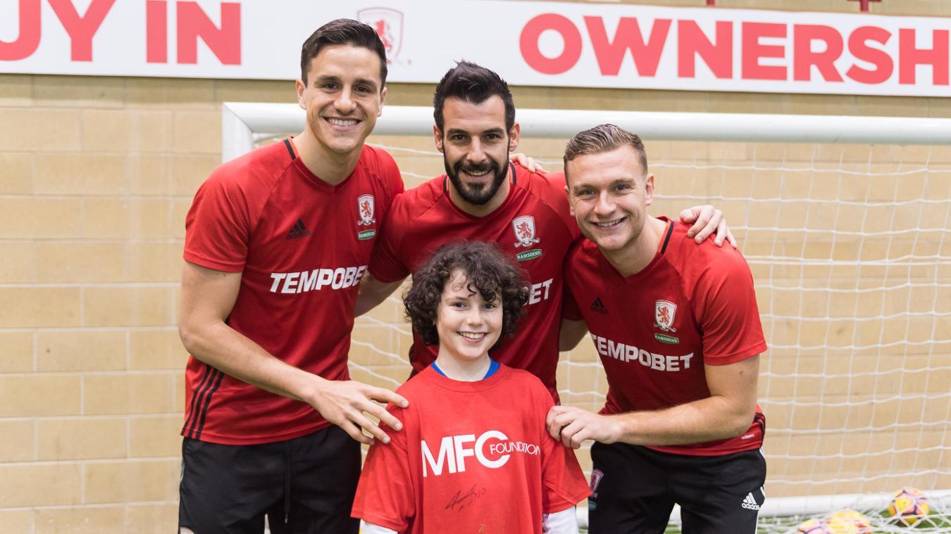 Oliver Philpott, Middlesbrough FC Foundation