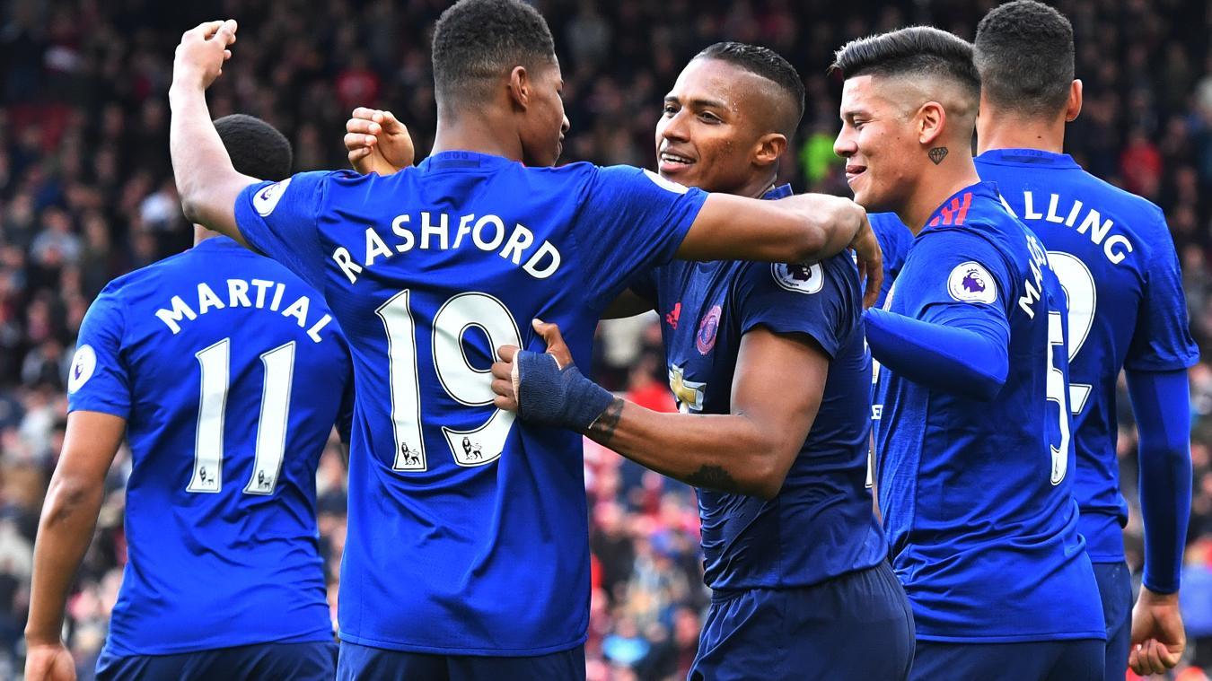 Middlesbrough 1-3 Man Utd