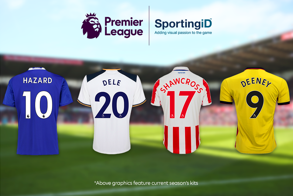 Premier League names and numbers 2017/18